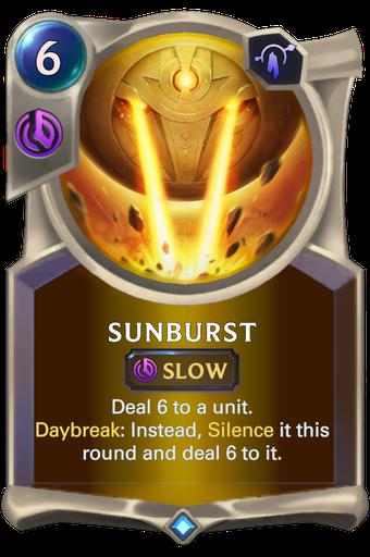Sunburst Card Image