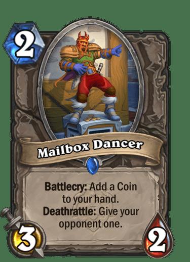 Mailbox Dancer Card Image