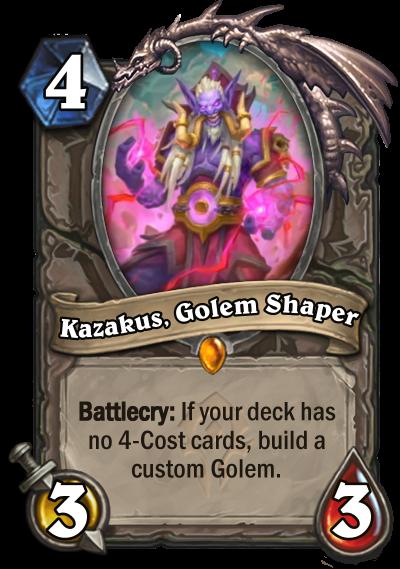 Kazakus, Golem Shaper Card Image