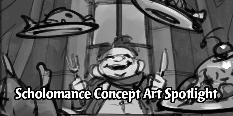 The Artwork Process of Scholomance Academy - Concept Art Spotlight