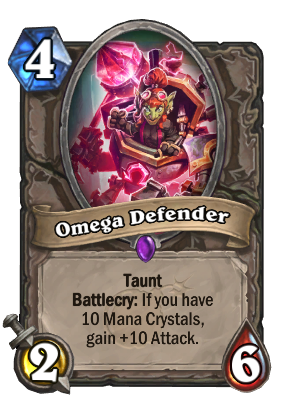 Omega Defender Card Image