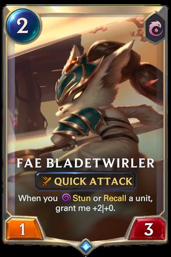 Fae Bladetwirler Card Image