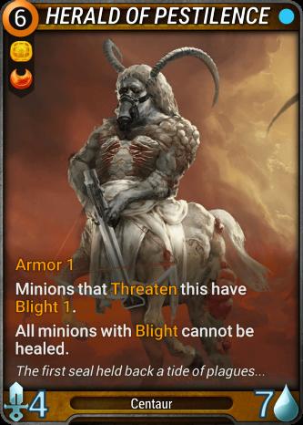 Herald of Pestilence Card Image