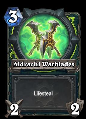 Aldrachi Warblades Card Image