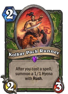 Kolkar Pack Runner Card Image