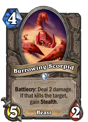 Burrowing Scorpid Card Image