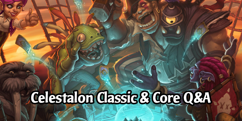 Celestalon Answers Community Questions on the Upcoming Hearthstone Classic Mode, Core and Legacy Card Sets