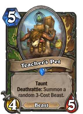 Teacher's Pet Card Image