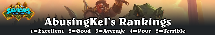 SoU AbusingKel's Rankings