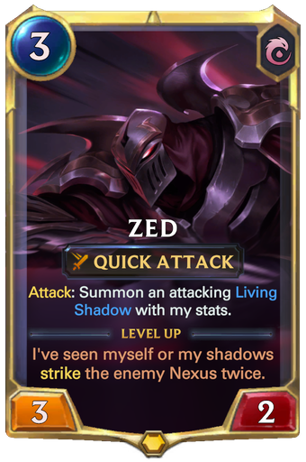 Zed Card Image