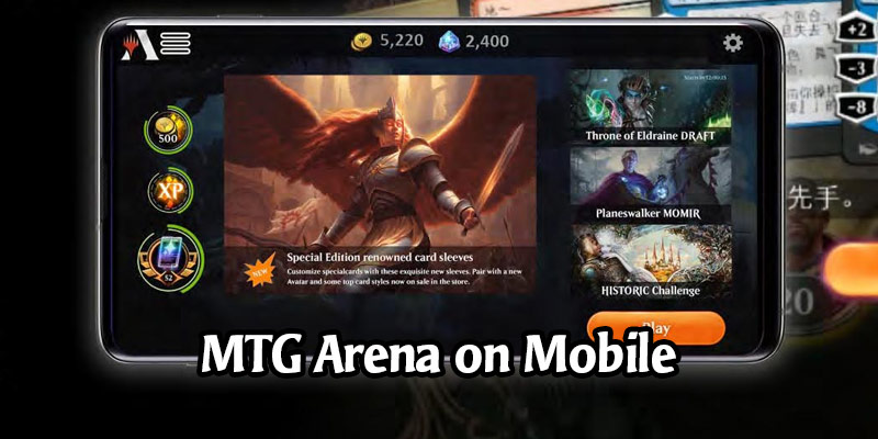 Magic & Wizards at Toy Fair 2020 - Early Look at the Mobile MTG Arena Client
