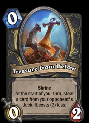 Treasure from Below Card Image