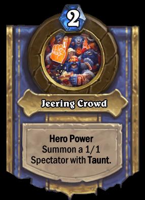 Jeering Crowd Card Image