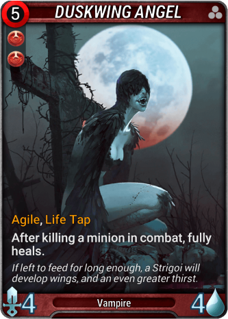 Duskwing Angel Card Image