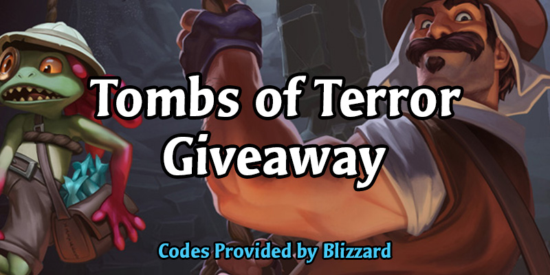 Tombs of Terror Solo Content Giveaway