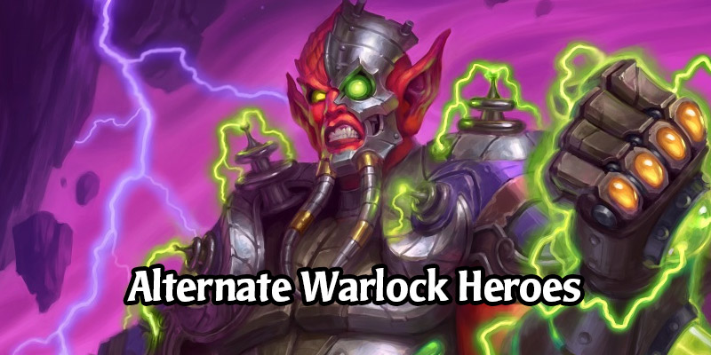 How to Obtain Hearthstone's Alternate Warlock Heroes