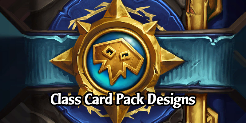 The Designs of the Class-Specific Packs Coming From Book of Heroes