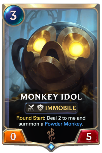 Monkey Idol Card Image