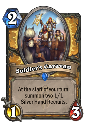 Soldier's Caravan Card Image