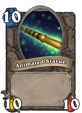 Animated Statue Card Image