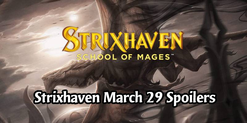 Daily Strixhaven Spoilers for March 29