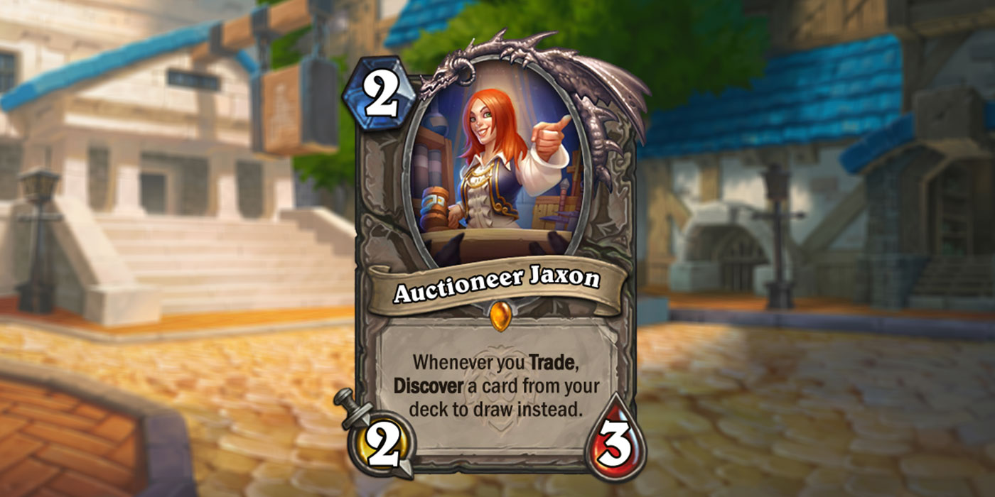 New Card Revealed for United in Stormwind by NGA.cn - Auctioneer Jaxon