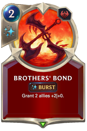 Brothers' Bond Card Image