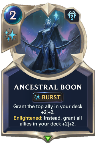 Ancestral Boon Card Image