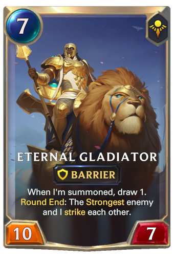 Eternal Gladiator Card Image