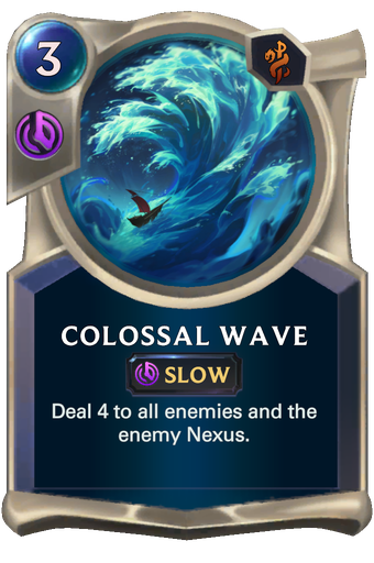 Colossal Wave Card Image