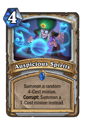 Auspicious Spirits Card Image