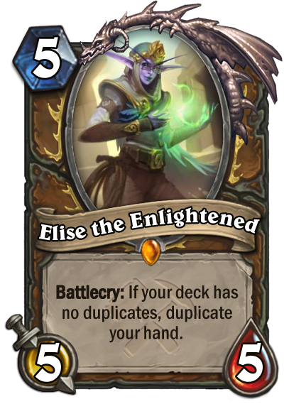 Elise the Enlightened Card Image