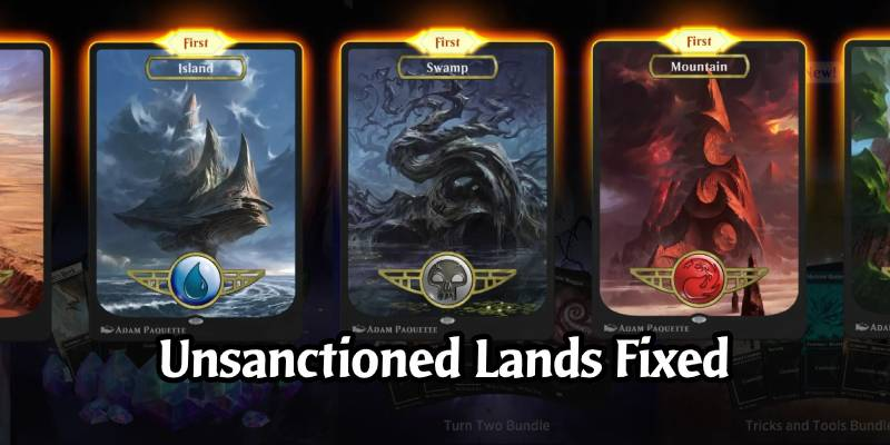 MTG Arena Update - Unsanctioned Lands Issue Resolved, Direct Challenge Returns