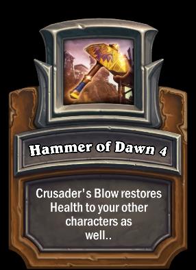 Hammer of Dawn 4 Card Image
