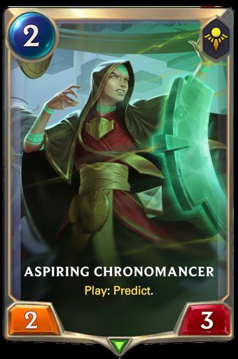 Aspiring Chronomancer Card Image
