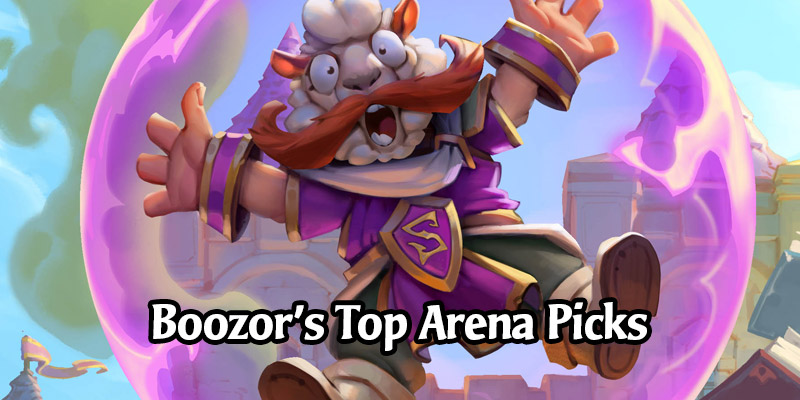 Boozor's Top 10 Hearthstone Arena Impact Cards From Scholomance Academy - Advice from an Arena Legend