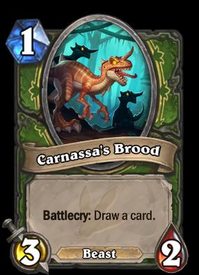 Carnassa's Brood Card Image