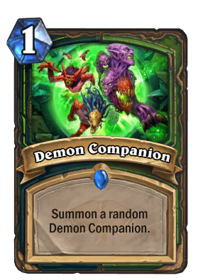 Demon Companion Card Image