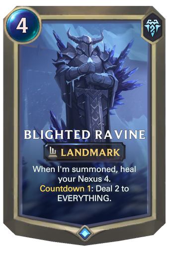 Blighted Ravine Card Image