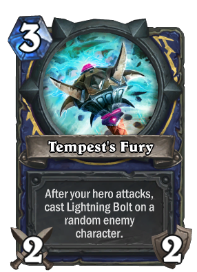Tempest's Fury Card Image