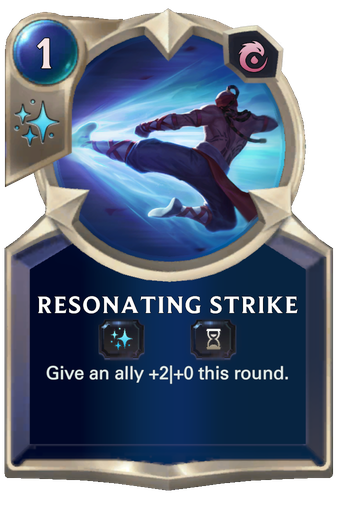 Resonating Strike Card Image