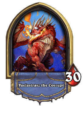 Vaelastrasz the Corrupt Card Image