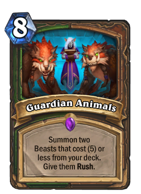 Guardian Animals Card Image