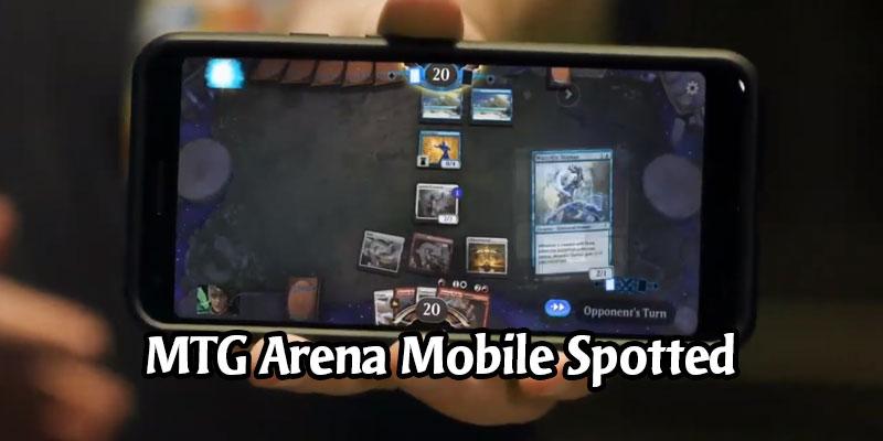 MTG Arena Mobile Coming Soon - New Screenshot