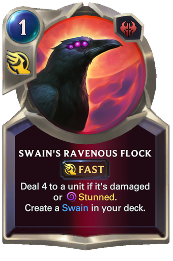 Swain's Ravenous Flock Card Image