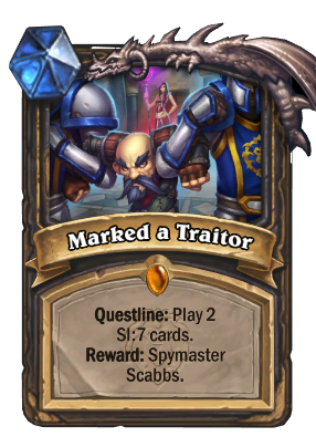 Marked a Traitor Card Image