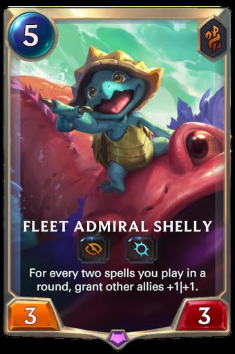 Fleet Admiral Shelly Card Image