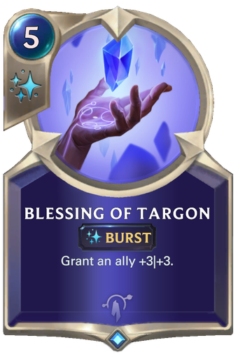 Blessing of Targon Card Image