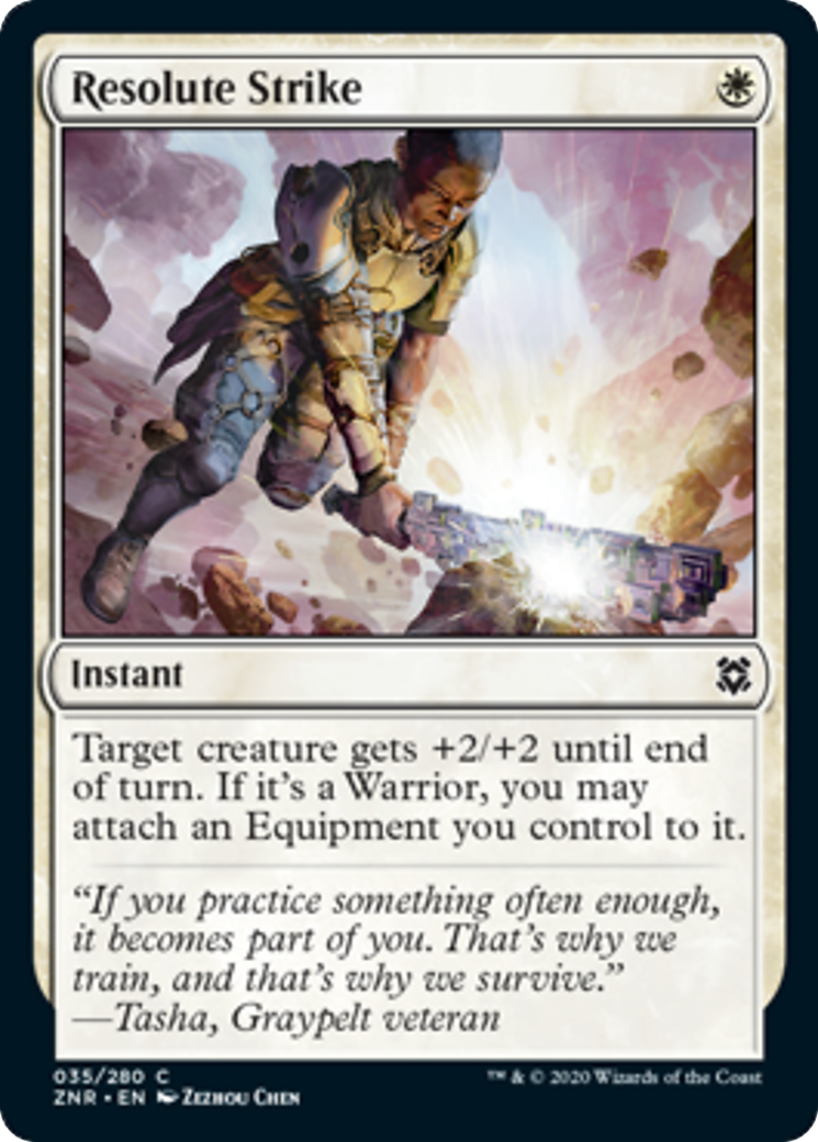 Resolute Strike Card Image
