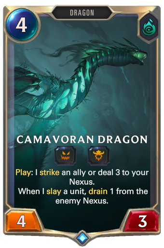 Camavoran Dragon Card Image